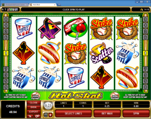 casino slot machines sport