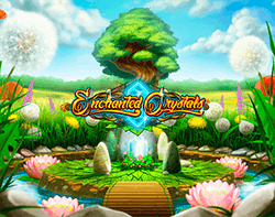 In Enchanted Crystals slot machine everything looks unique