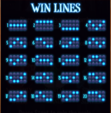 Ghostly Towers has 20 win lines