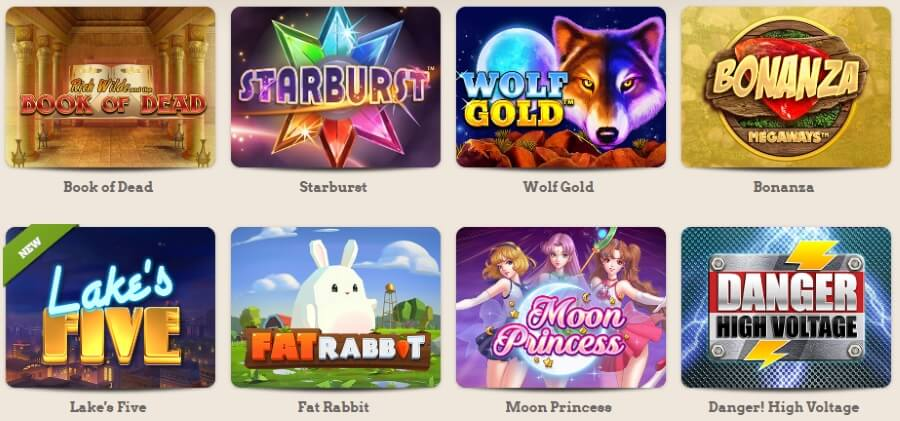 Leo Vegas - the most popular casino games
