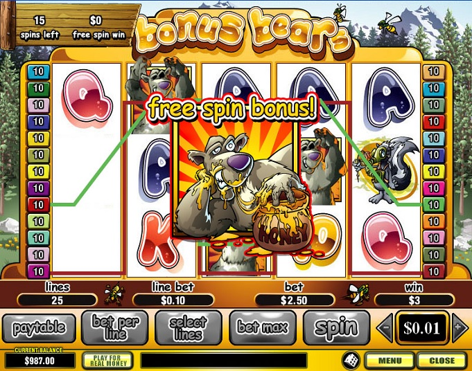 Online slot games with bonus