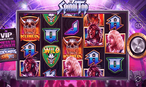 The theme of the Spinal Tap slot looks like it has been pulled out of the 1980s