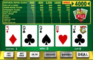 Joker Wild - a video poker with extra